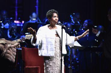 Une de ses dernières prestation lors du gala de la fondation Elton John en novembre 2017.