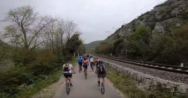 Vidéo promotionnelle du Chiro, le tour à vélo à travers les balkans