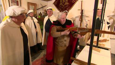 Les Arbalétriers de St Jean Baptiste. Société Royale à Enghien