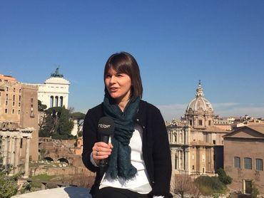 Valérie Dupont, journaliste correspondante pour la RTBF