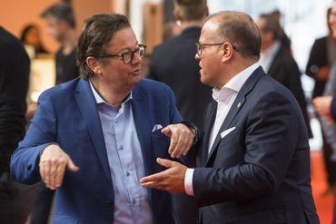 Marc Coucke et Bart Verhaeghe
