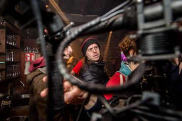 """Felix Van Groeningen sur le tournage de """"Belgica"""""""