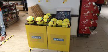 Certains produits Décathlon débarquent chez Delhaize