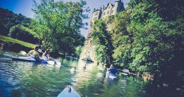 Les descentes en kayak ou en canoë de Dinant Evasion