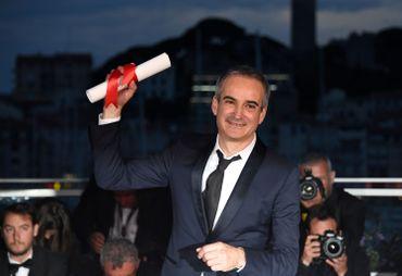 Olivier Assayas à Cannes, avec le Prix de la Mise en scèhe 2016