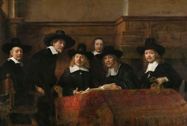 Le Syndic de la guilde des drapiers, par Rembrandt