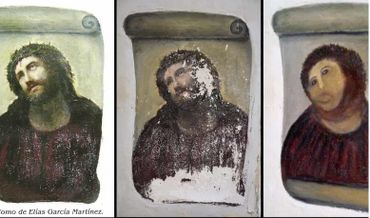 L'hasardeuse restauration du Ecce Homo avait beaucoup fait parler d'elle, en été 2012...