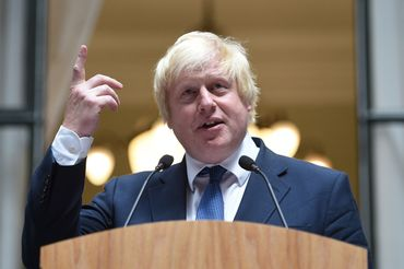 Le ministre des Affaires étrangères du Royaume-Uni Boris Johnson