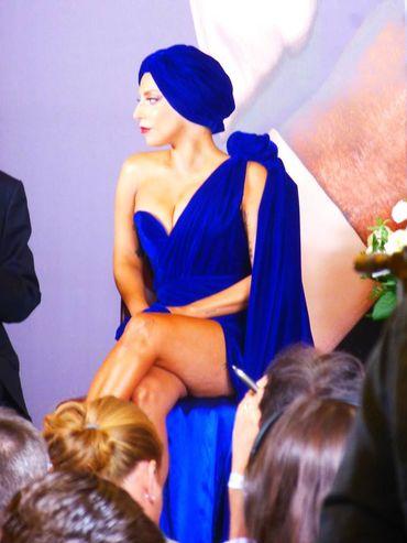 Lady Gaga à Bruxelles