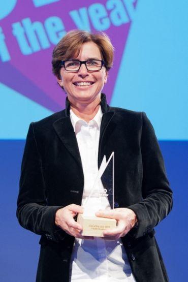 Cécile Gonfroid, de première femme réalisatrice de matchs à Directrice générale des Technologies de la RTBF
