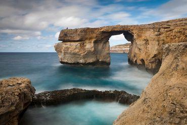 La fenêtre d'Azure sur l'île de Gozo