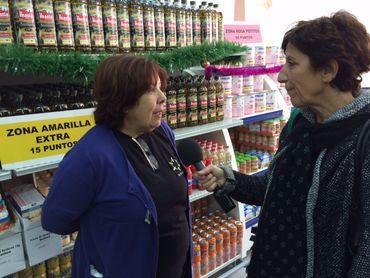 Marisol est à la fois bénévole et bénéficiaire de la Fondation.