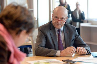 Alain Juppé, candidat français aux primaires de la droite