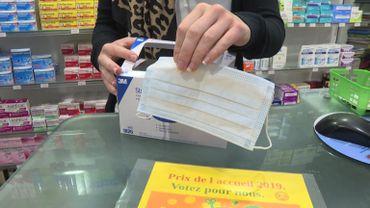 Rouen: ruée sur les masques de protection en pharmacie