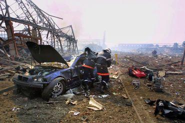 Le drame d'AZF Toulouse fit 33 morts en septembre 2001