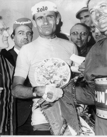 Bernard Van De Kerckhove après l'étape Liège-Roubaix