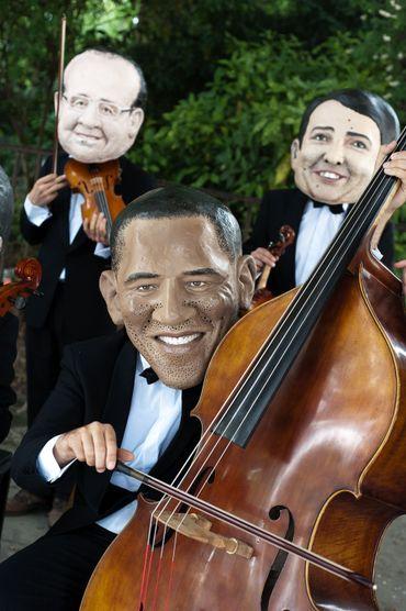 Barack Obama est arrivé à Bruxelles, où les puissances du G7 se rencontrent