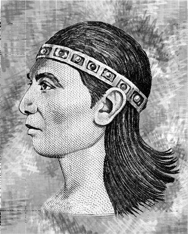 Lempira comme représenté sur les billets honduriens