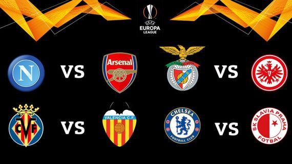 """""""Europa League"""" : Quart de Finale : Arsenal - Naples"""