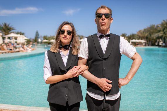 Sarah Grosjean et Martin Charlier