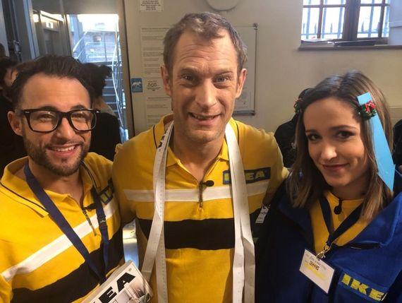 Youri, Martin Charlier et Sarah Grosjean