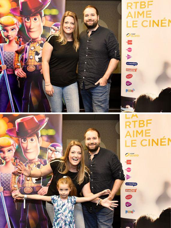 Cyril et Audrey et leur future animatrice !