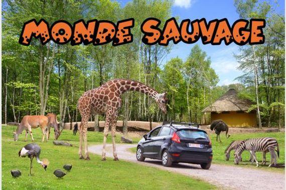 Concours Les Ambassadeurs : 4 X 2 entrées au Monde Sauvage à gagner !