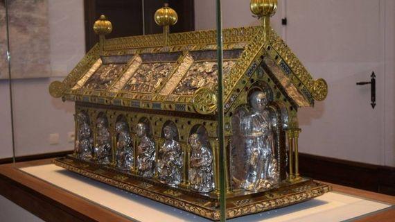 Un écrin en vitrage ultra sécurisé pour la châsse de Sainte-Ode à Amay