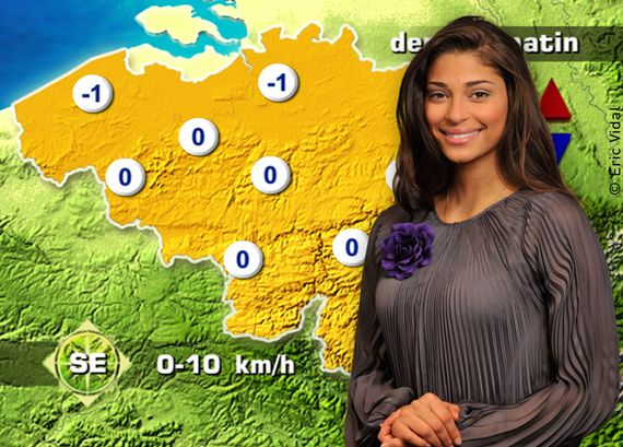 Tatiana Silva - Météo RTBF