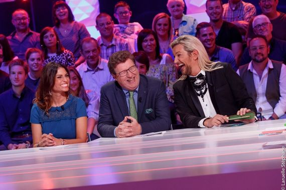 Livia Dushkoff, Thierry Luthers et David Jeanmotte