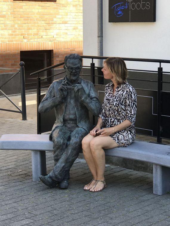 Toots Thielemans a vécu plus de 20 ans avec son épouse Huguette à La Hulp . Armelle découvre L'Espace Toots honorant la mémoire de cet immense musicien aujourd'hui disparu. - © Tous droits réservés
