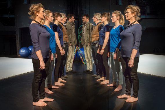 Cercle Miroir Transformation, à Louvain la Neuve, du 8/2 au 11/3  - Gregory Navarra ©
