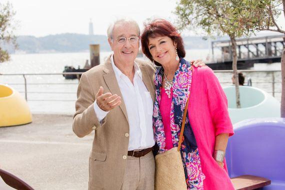 Bernard Le Coq et Annie Duperey