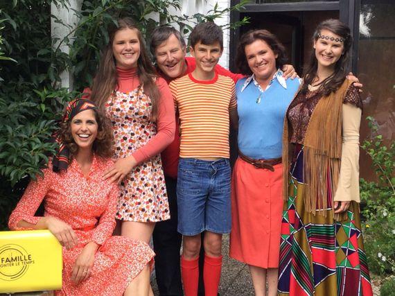 Back to the 70s avec La famille à remonter le temps !