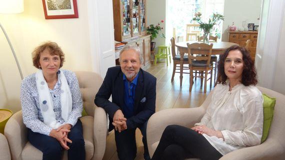 Anne Hubrecht, Thierry Bellefroid et Anne-Sophie Monglon