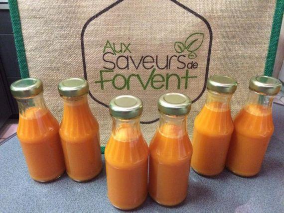 Aux Saveurs de Forvent met en place la livraison des produits locaux dans la région d'Andenne, Ciney, Eghezée, Huy,...