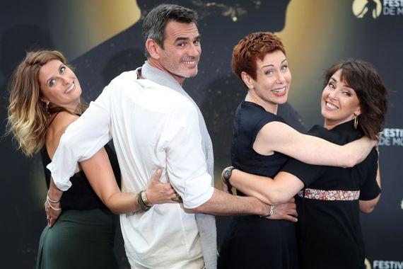 Les acteurs de Plus belle la vie au Festival de  Monte-Carlo en 2017