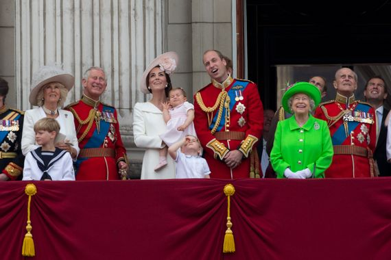 L'année dernière, pour les 90 ans de la Reine