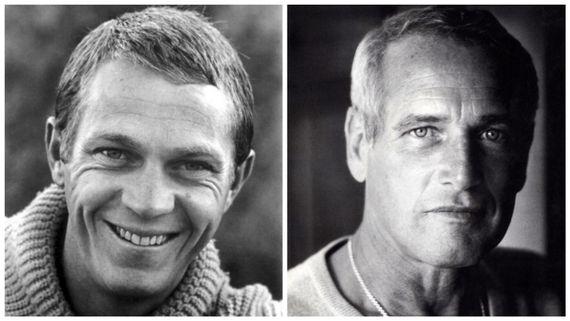 Steve McQueen et Paul Newman