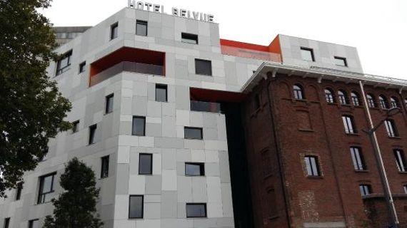 L'Hôtel Belvue se situe sur le site d'anciennes brasseries datant du début du 20ème siècle.