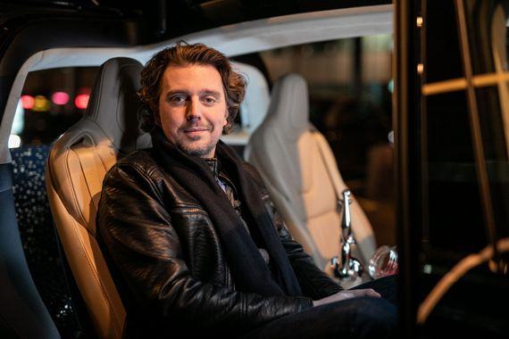 Alex Vizorek à bord du taxi de Jérôme Colin