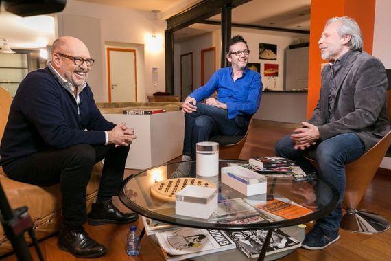 Stefan Liberski, Matthieu Vellut et Thierry Bellefroid