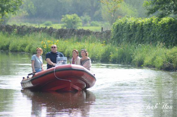 Dépaysement garanti pour cette balade sur le Canal Blaton-Ath