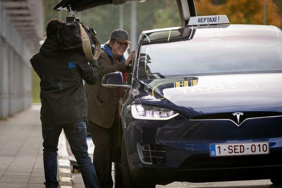 Une légende du cinéma français est entrée dans notre taxi!