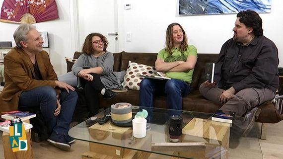Thierry Bellefroid, Cloé Devalkeneer, Gorian Delpâture et Michel Dufranne
