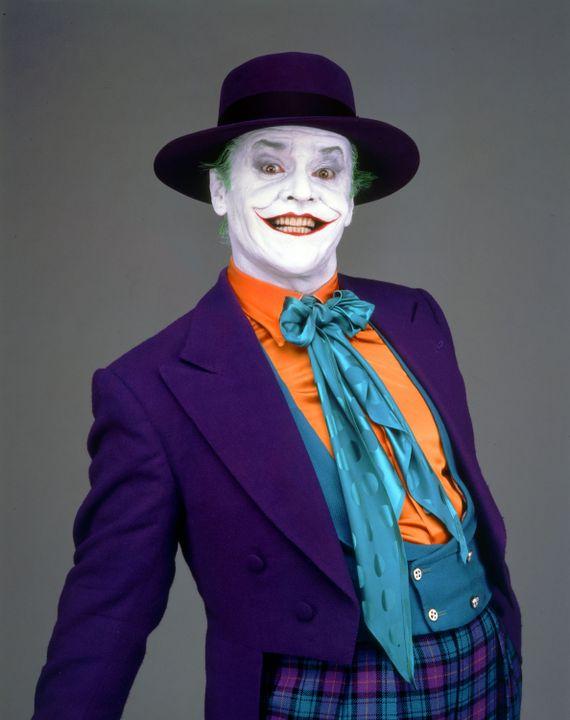 Jack Nicholson est le Joker