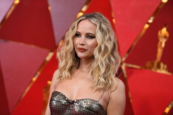 Jennifer Lawrence à la 90ème cérémonie des Oscars