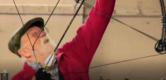 Tir à l'arc sur perche verticale au Musée de Rixensart !