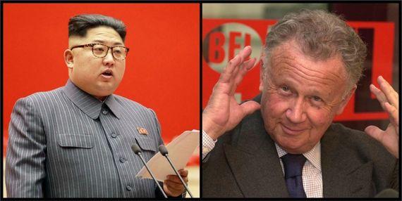 Le Grand Cactus avec Kim Jong Un et Philippe Bouvard