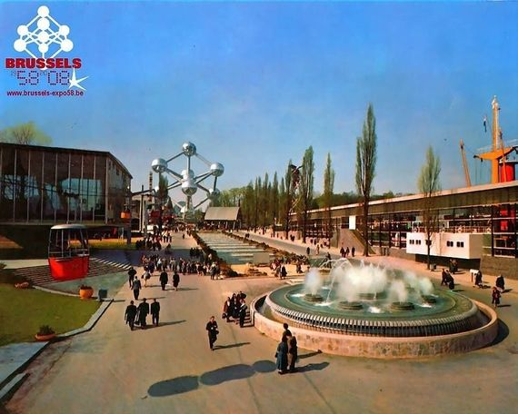 LEXPO 58 La Mythique Exposition Universelle Et Internationale De Bruxelles 1958 Un Peu Plus 6 Mois Qui Porta Au Statut Ville